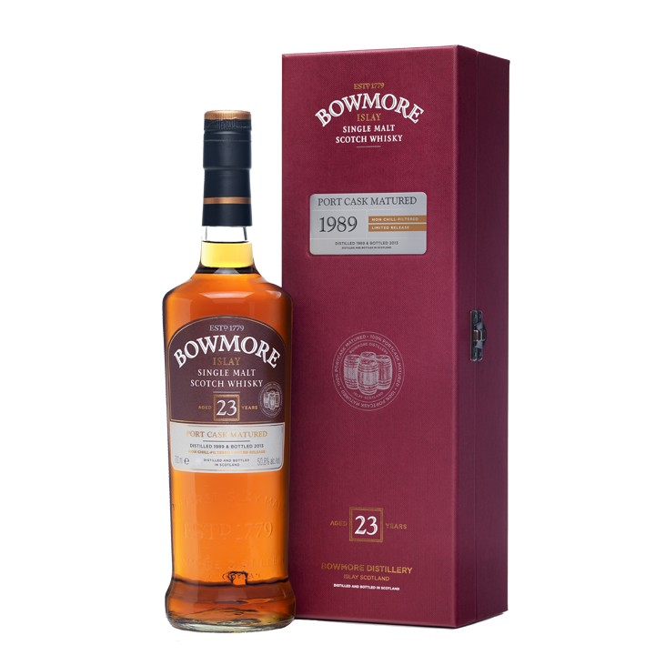 BOWMORE 23 YEARS OLD PORT MATURED