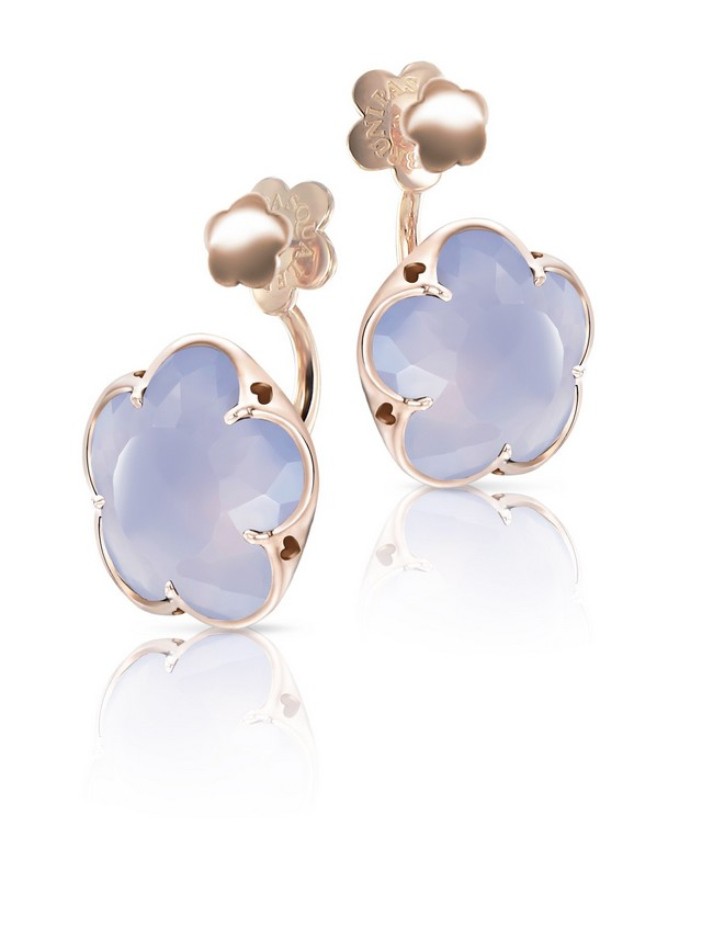 Bon Ton Calchedony earrings