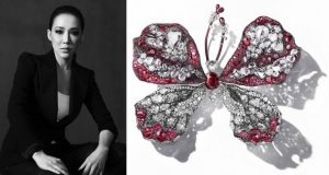 CINDY CHAO The Art Jewel_2015-16 ruby Butterfly