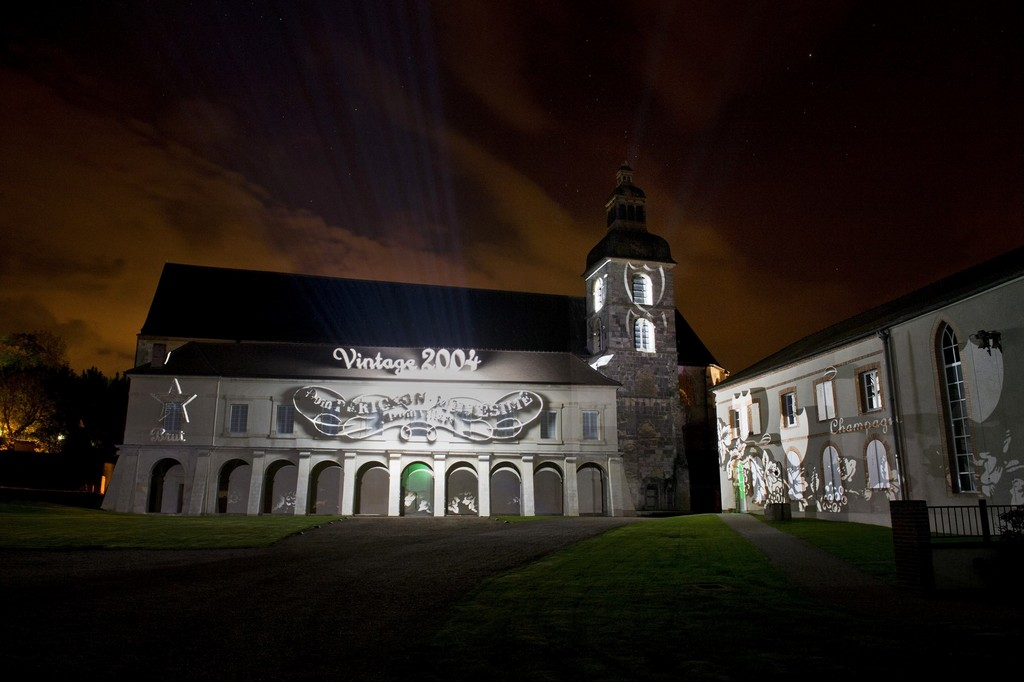 'Expanding Universe' Projection on the Abbey of Hautvillers - 1