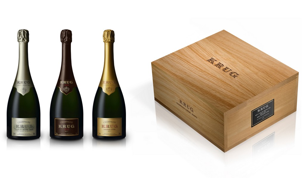 Krug - Coffret du Point à l'Univers 2003