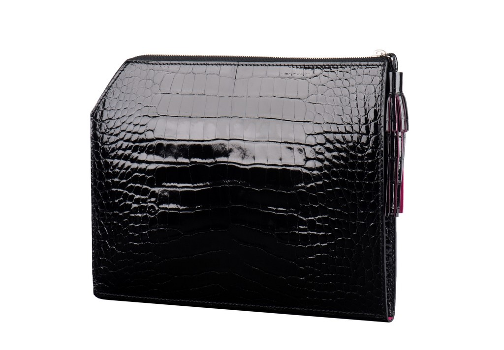 Pochette Camille Fournet Alligator