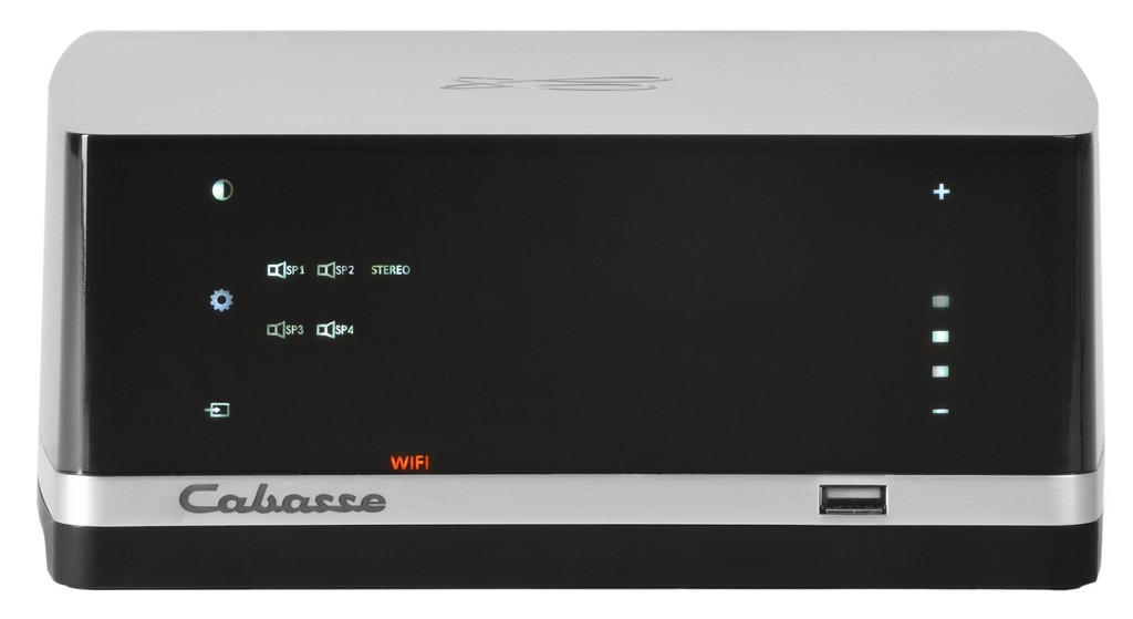 Stream AMP front top 4 channels stereo on THD