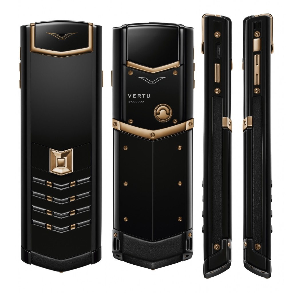 Vertu Signature_Red Gold Black