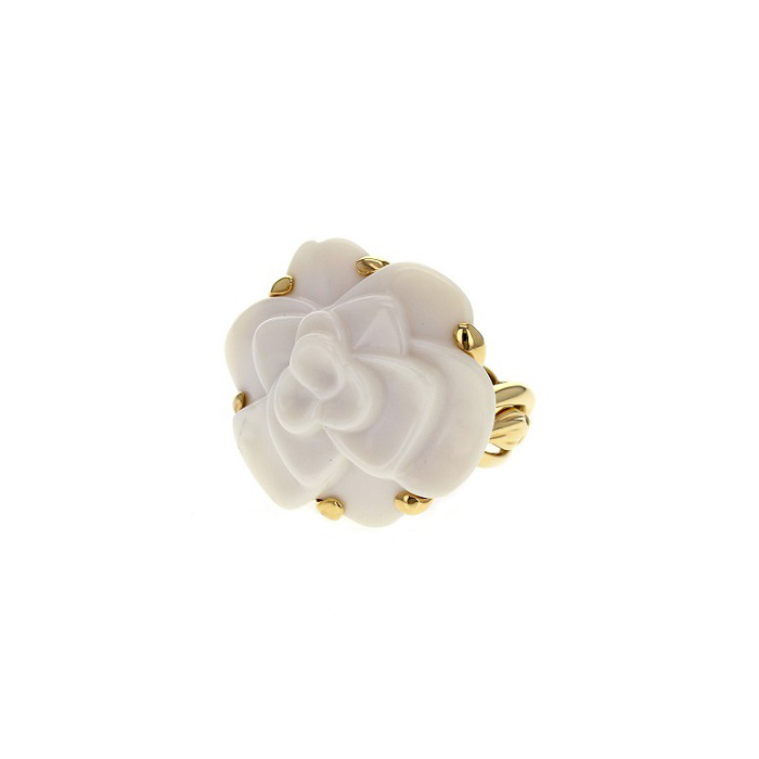 bague camelia Chanel Collector Square